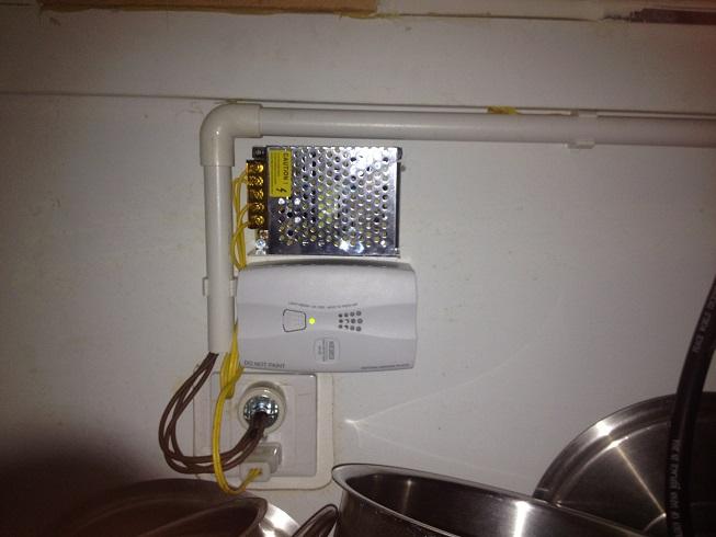 Hệ thống báo rò rỉ gas