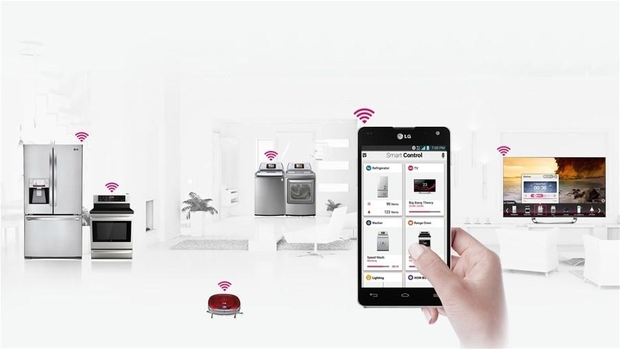 Thiết bị nhà thông minh được điều khiển bằng smartphone
