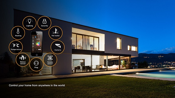 Nhà ở thông minh – giải pháp cho cuộc sống tiện nghi