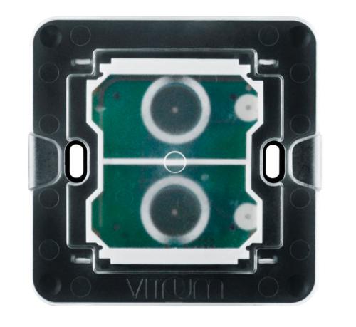 Lõi công tắc hai nút không dây Vitrum- chuẩn BS
