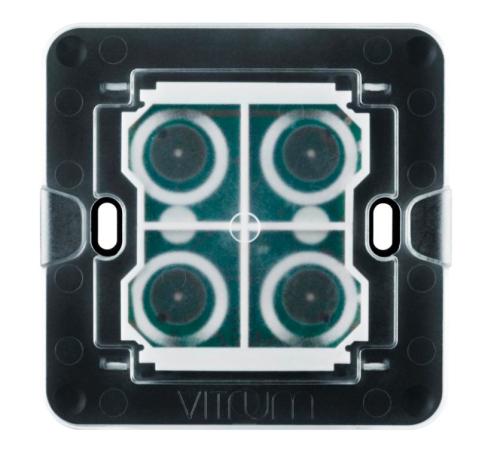 Lõi công tắc bốn nút không dây Vitrum - chuẩn BS