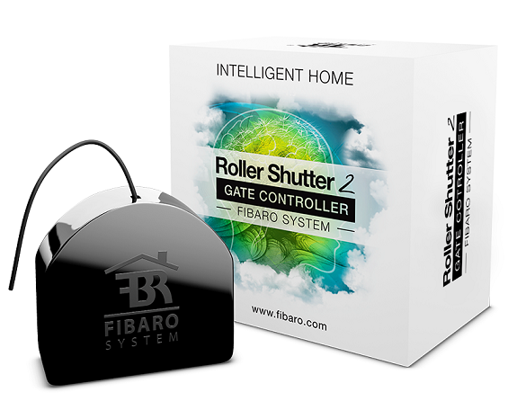 FIBARO Roller Shutter 2 - Bộ điều khiển rèm FIBARO Roller Shutter 2