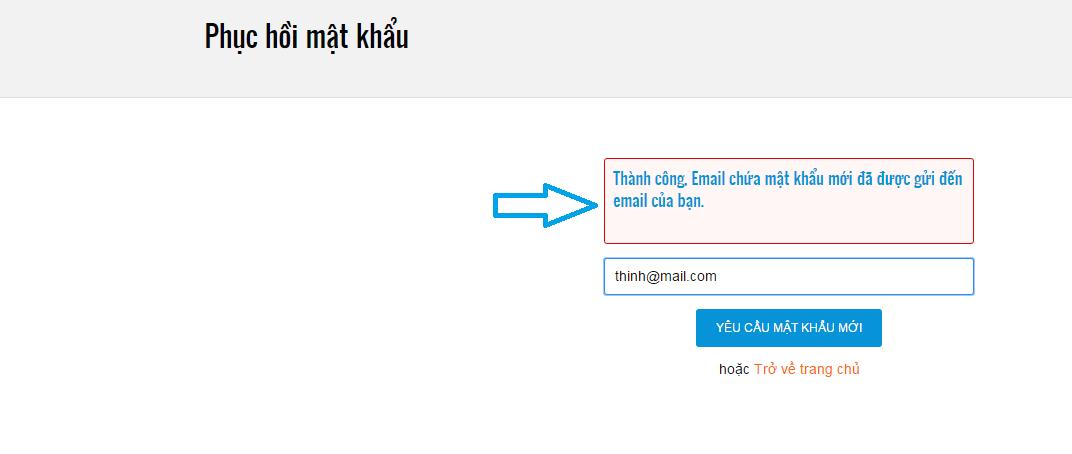 Khôi phục mật khẩu Vinteligroup.com
