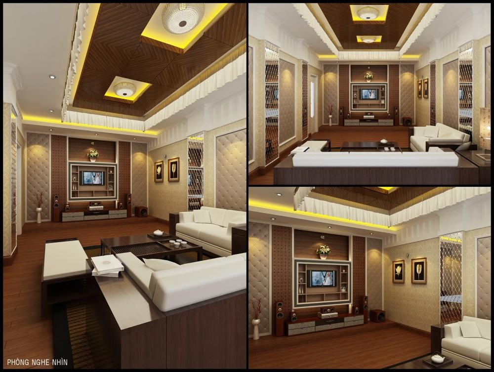 Phòng chiếu phim tự động Vinteli Home
