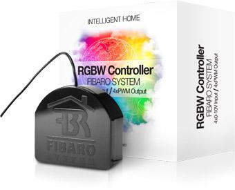 FIBARO RGBW Controller - Bộ điều khiển đèn màu RGB FIBARO