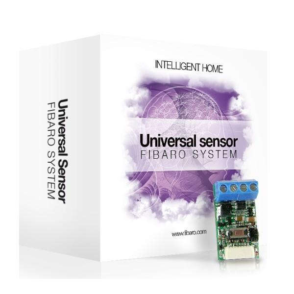 FIBARO Universal Binary Sensor - Bộ chuyển đổi tín hiệu ngõ vào cho HC2/HCL FIBARO